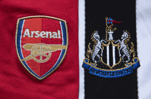 arsenal-and-newcastle-in-premier -League