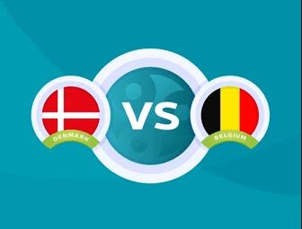 مباراه-الدنمارك-و-بلجيكا-في-بطوله-امم-اوروبا