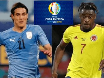 Uruguay-vs-Colombia-in-Copa-America